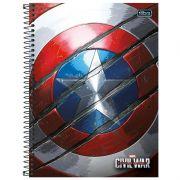 Caderno Universitário Capa Dura Avengers Civil War 1X1 96 Fls. 153851 Tilibra 23483