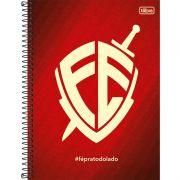 Caderno Universitário Capa Dura Fé 10X1 200 Fls. 150533 Tilibra 23480