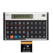 Calculadora Financeira 12C Platinum HP - PORT - Informática - Escritório - Papelaria