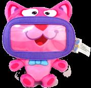 Capa Wise Pet Pelúcia protetora para smartphones Mini-Kitty Geonav 900205