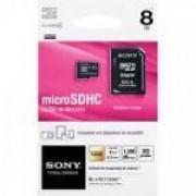 Cartão de Memória 8GB Micro SDHC com Adaptador CLASSE 4 SR-8C4 SONY 24624