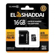 Cartão de Memória Micro SD 16GB C10 C/ Adaptador 62165 El Shaddai 22469