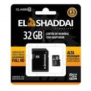 Cartão de Memória Micro SD 32GB C10 C/ Adaptador 62164 El Shaddai 22470