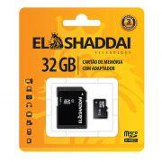 Cartão de Memória Micro SD 32GB C4 C/ Adaptador 62163 El Shaddai 22467