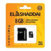 Cartão de Memória Micro SD 8GB C4 C/ Adaptador 62161 El Shaddai 22465