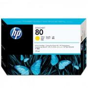 Cartucho de Plotter HP 80 C4873A Amarelo