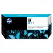 Cabeça de Impressão HP 81 C4951A Ciano