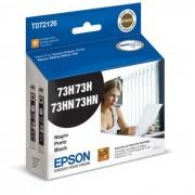 Cartucho de Tinta EPSON T072126-BR Duplo Preto