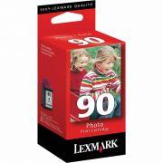 Cartucho de Tinta Lexmark 90 12A1990 Fotográfico - PORT - Informática - Escritório - Papelaria
