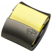 Dispensador Pop-Up Preto + 1 Post-It Pop Up Pro-330 3M - PORT - Informática - Escritório - Papelaria