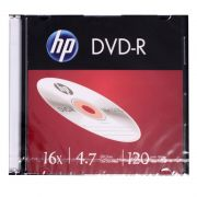 DVD-R Slim 4,7GB 120 Min 16X 463021 HP