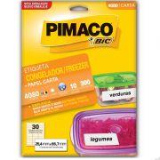 Etiqueta Congelador/Freezer Carta 25,4x66,7mm C/ 300 Un. 4080 Pimaco - PORT - Informática - Escritório - Papelaria