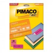 Etiqueta Pimaco InkJet + Laser - 5580M