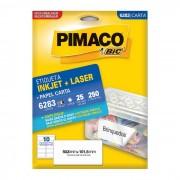Etiqueta Pimaco InkJet + Laser - 6283 - PORT - Informática - Escritório - Papelaria