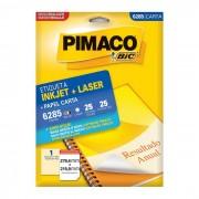 Etiqueta Pimaco InkJet + Laser - 6285 - PORT - Informática - Escritório - Papelaria