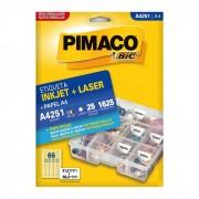 Etiqueta Pimaco InkJet + Laser - A4251