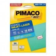 Etiqueta Pimaco InkJet + Laser - A5Q-1723 - PORT - Informática - Escritório - Papelaria