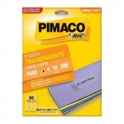 Etiqueta Pimaco Transparente 0080