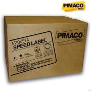 Etiqueta Speed Label 21.2 X 38.2 C/ 1.000 Fls C/ 65.000 Un. SLA41051 Pimaco