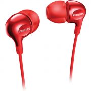 Fone de Ouvido Intra-Auricular SHE3700RD/00 Vermelho PHILIPS