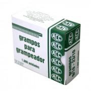 Grampo 9/10 Aço Galvanizado CX. C/ 1000 Un. ACC - PORT - Informática - Escritório - Papelaria