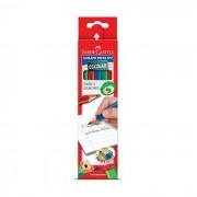Lápis Grafite Nº2 Escolar CX C/ 12 1205E/12 Faber-Castell