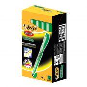 Marcador de Texto Brite Liner Verde CX. C/ 12 Un. BIC - PORT - Informática - Escritório - Papelaria