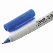 Marcador Permanente Fino Multiuso Duas Pontas Azul Sharpie - PORT - Informática - Escritório - Papelaria