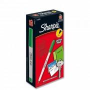 Marcador Permanente Fino Multiuso Verde CX. C/ 12 Un. Sharpie - PORT - Informática - Escritório - Papelaria
