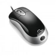 Mouse Óptico PS2 Preto/Prata MO009 Multilaser