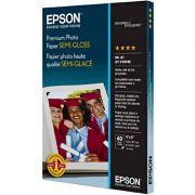 Papel fotográfico Premium 10x15cm 194g semi glossy S041982 Epson Pacote com 40 folhas