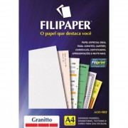 Papel Granitto Natural A4 90g 100 Fls 00988 Filipaper