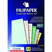 Papel Granitto Verde A4 180g 50 Fls 00965 Filipaper - PORT - Informática - Escritório - Papelaria