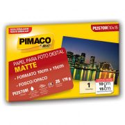 Papel Mate Fosco 170g Envelopes 25 Fls (10x15) PI127191 Pimaco