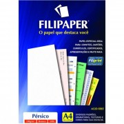 Papel Persico Branco A4 180g 50 Fls 01423 Filipaper