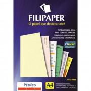 Papel Persico Marfim A4 90g 100 Fls 01429 Filipaper - PORT - Informática - Escritório - Papelaria