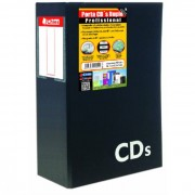 Porta CD/DVD P/ 80 Un. Duplo 1302 Chies