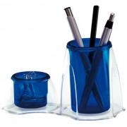 Porta Lápis/Clipes Azul Duocolor 3021C Dello