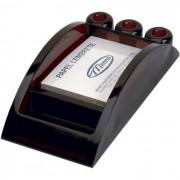 Porta Lembrete/Caneta/Clips Fumê Pequeno Luxo 007000270 Menno - PORT - Informática - Escritório - Papelaria