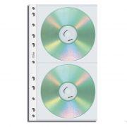 Refil P/ CD Duplo C/ Furo Universal C/ 10 Un. 1698-5 Chies