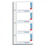 Refil P/ Porta Cartão P/8 Cartões C/ 10 Un. CHIES 10928
