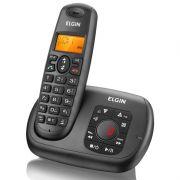 Telefone Preto S/ Fio C/ Viva Voz C/ Identificador e Secretária TSF-700SE Elgin