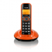 TELEFONE S FIO ELGIN C IDENTICADOR DE CHAMADAS LARANJA TSF760L