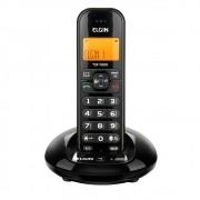 TELEFONE S FIO ELGIN C IDENTICADOR DE CHAMADAS PRETO TSF7600