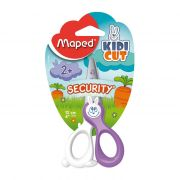 Tesoura Escolar 12cm Security Kidikut 037800 Maped - PORT - Informática - Escritório - Papelaria