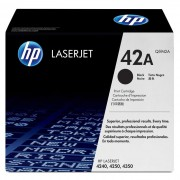 Toner HP 42A Q5942A Preto