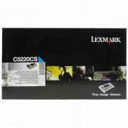 Toner Lexmark C5220CS Ciano