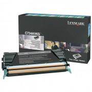 Toner Lexmark C734A1KG Preto - PORT - Informática - Escritório - Papelaria