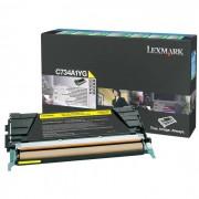 Toner Lexmark C734A1YG Amarelo - PORT - Informática - Escritório - Papelaria