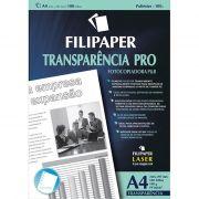 Transparência Copiadora P/B A4 C/ Tarja Env C/ 100 Fls 02607 Filipaper